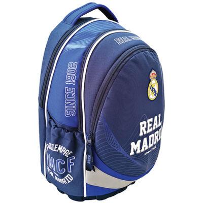 Real Madrid ergonomikus lekerekített iskolatáska, hátizsák