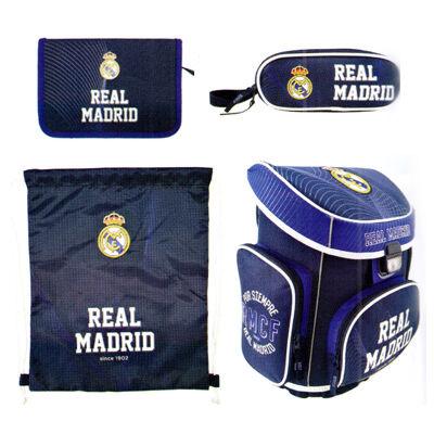 Real Madrid ergonomikus iskolatáska, hátizsák 4 az 1-ben szett