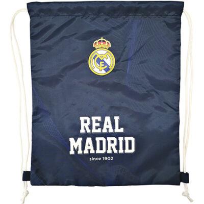 Real Madrid kék tornazsák, sportzsák 32×38,5 cm