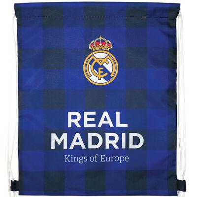 Real Madrid kockás tornazsák sportzsák