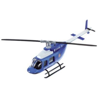 Csendőrségi fém helikopter modell 1/60 – Mondo
