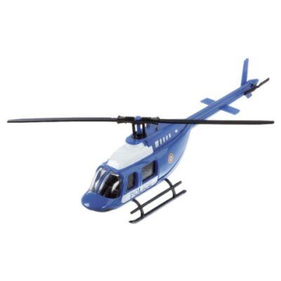 Rendőrségi fém helikopter modell 1/60 – Mondo