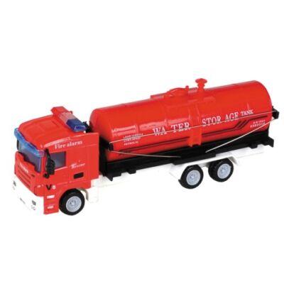 City Truck: Tartályos tűzoltóautó modell 1/64 – Mondo Motors
