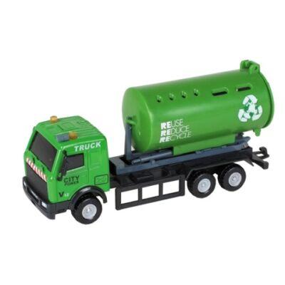City Truck: Szelektív hulladékgyűjtő tartályos teherautó modell 1/64 – Mondo Motors