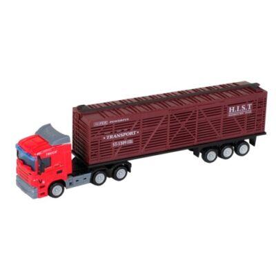 City Truck: Scania élőállat szállító kamion modell 1/64 – Mondo Motors