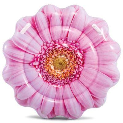 Intex: Rózsaszín százszorszép felfújható gumimatrac 142×142 cm