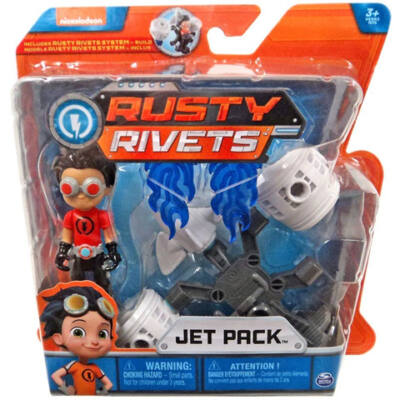 Rusty rendbehozza: Jet Pack szett - Spin Master