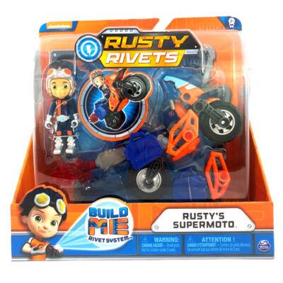 Rusty rendbehozza: Rusty szuper motorja építhető járgány
