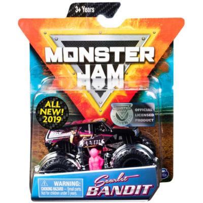 Monster Jam: Scarlet Bandit járgány figurával – Spin Master