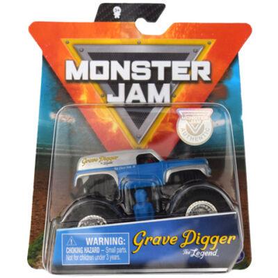 Monster Jam: Grave Digger The Legend járgány és figura – Spin Master