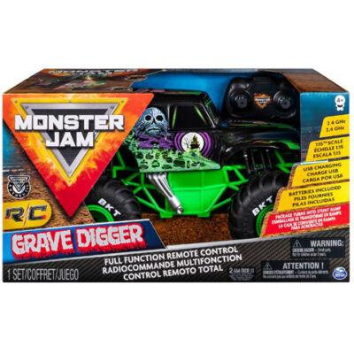 RC Monster Jam Grave Digger 2,4GHz távirányítós autó 1/15 – Spin Master