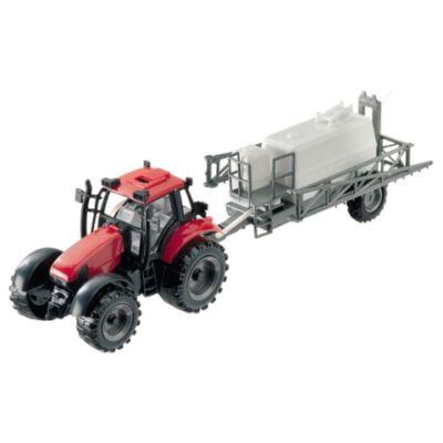 Traktor locsoló tartályos pótkocsival 1/27 – Mondo