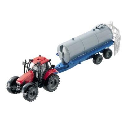 Traktor permetező pótkocsival 1/27 – Mondo