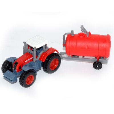 Traktor tartálykocsival modell 1/72 – Mondo Motors