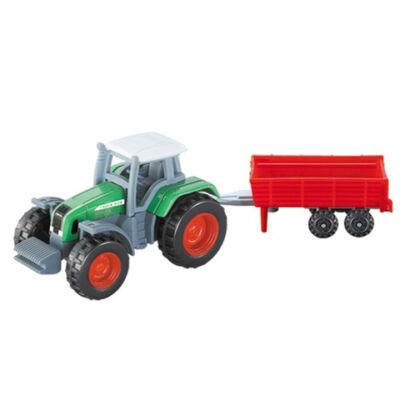 Traktor utánfutóval modell 1/72 – Mondo Motors