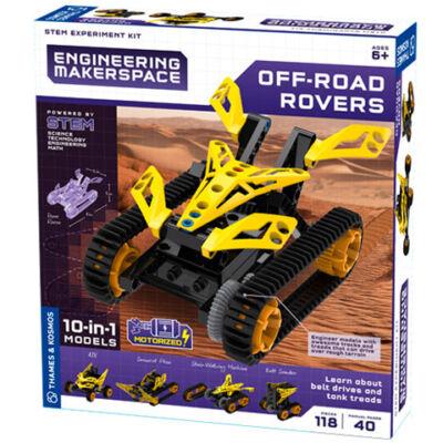 Off-Road Rovers tudományos építőjáték