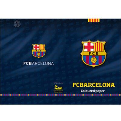 FC Barcelona színes lapok A/4