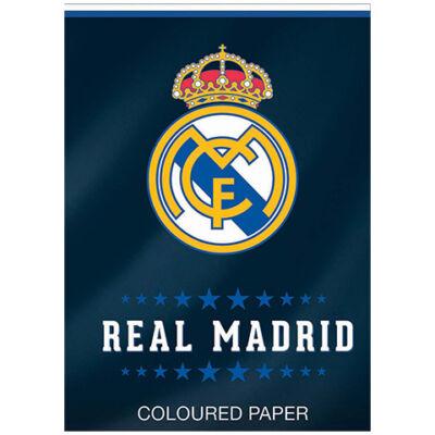 Real Madrid színes papír A/4-es 20 lapos