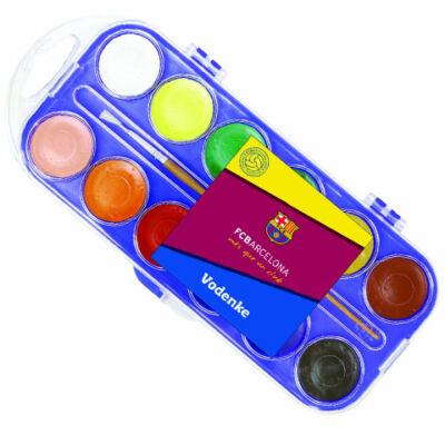FC Barcelona 12 színű vízfesték