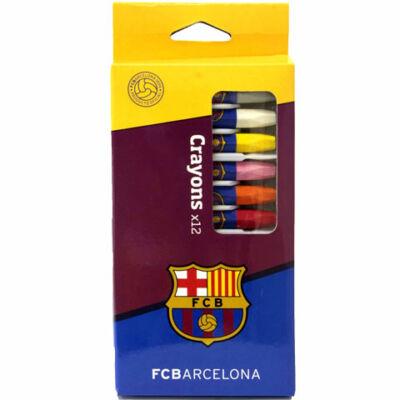 FC Barcelona zsírkréta készlet 12db-os