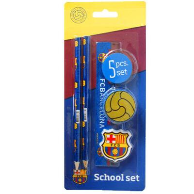 FC Barcelona 5 db-os írószer szett