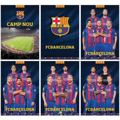 FC Barcelona 54 lapos vonalas füzet A/4