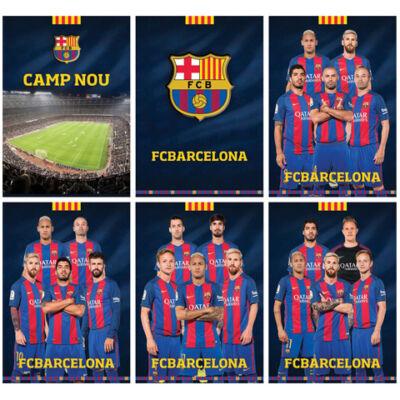 FC Barcelona 54 lapos sima füzet A/4