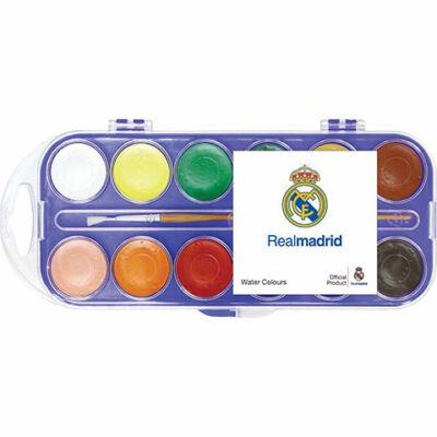 Real Madrid vízfesték 12 színnel