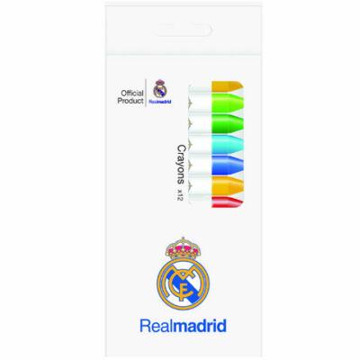 Real Madrid 12 színű zsírkréta készlet