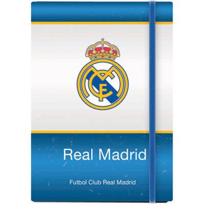 Real Madrid gumis jegyzetfüzet A/5-ös 96 lapos