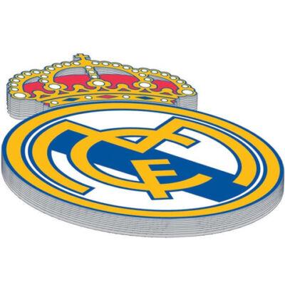 Real Madrid címer stancolt notesz