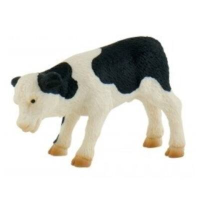Fridolina a fekete foltos tehén borjú játékfigura – Bullyland