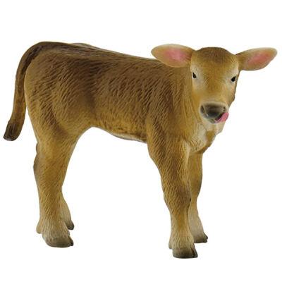Alpesi tehén borjú játékfigura- Bullyland