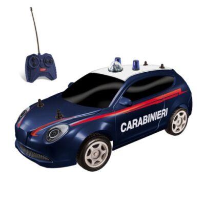RC Olasz távirányítós csendőrségi autó modell 1/28 – Mondo Motors