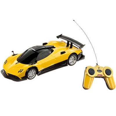 Pagani Zonda távirányítós autó sárga színben 1/24 – Mondo Motors