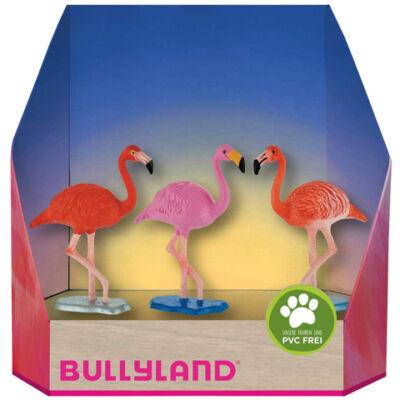 Flamingók 3 db-os karácsonyi figura szett – Bullyland