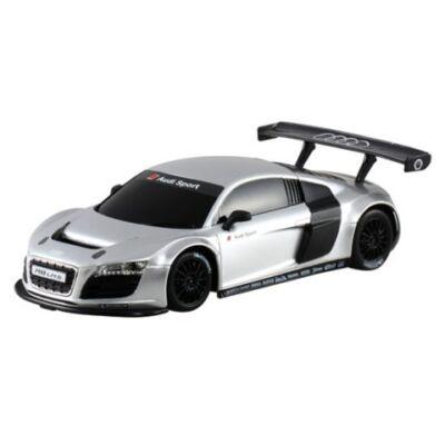 RC Audi R8 LMS távirányítós autó 1/24 ezüstszürke – Mondo