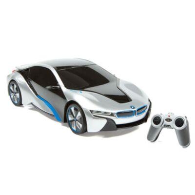 RC BMW i8 Concept távirányítós autó 1/24 ezüstszürke-fekete - Mondo