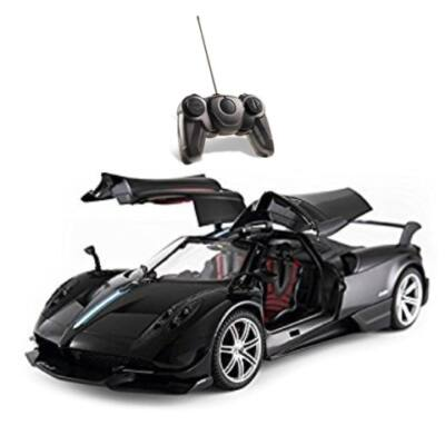 RC Pagani Huayra távirányítós autó 1/14 fekete – Mondo Motors