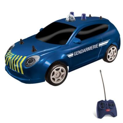RC Francia távirányítós csendőrségi autó modell 1/28 – Mondo Motors