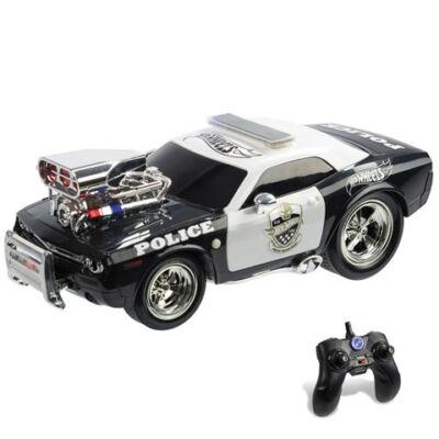 RC Hot Wheels Police Pursuit távirányítós autó 1/16 – Mondo Motors