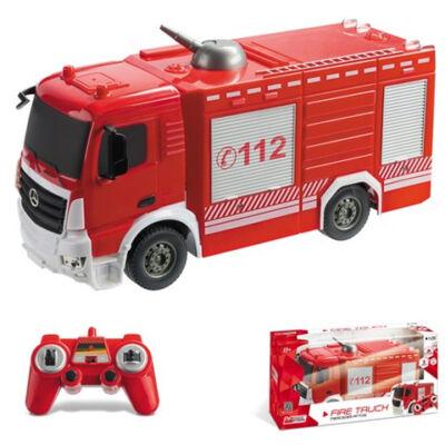 Mercedes Antos távirányítós tűzoltóautó 1/26 – Mondo Motors