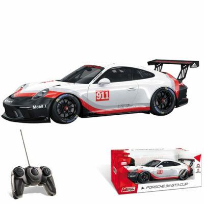 Porsche 911 GT3 Cup távirányítós autó 1/18 – Mondo Motors
