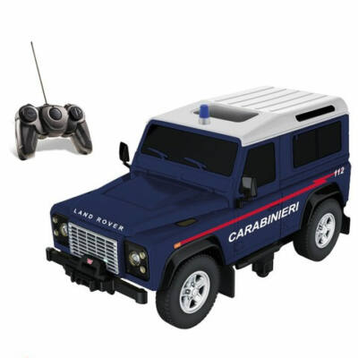 Land Rover Defender Carabinieri távirányítós autó 1/14 – Mondo Motors