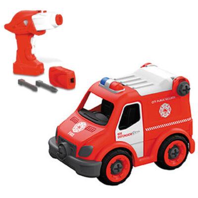 RC Szerelhető tűzoltó rohamkocsi távirányítós autó 2,4GHz – Mondo Motors
