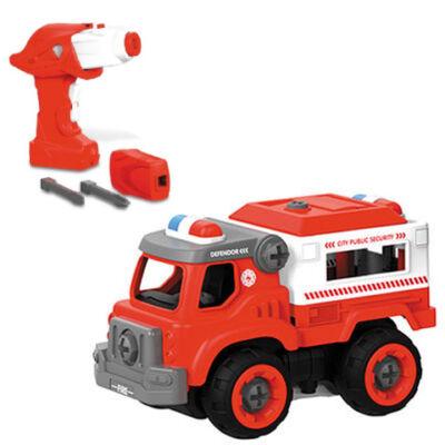 RC Szerelhető tűzoltókocsi távirányítós autó 2,4GHz – Mondo Motors