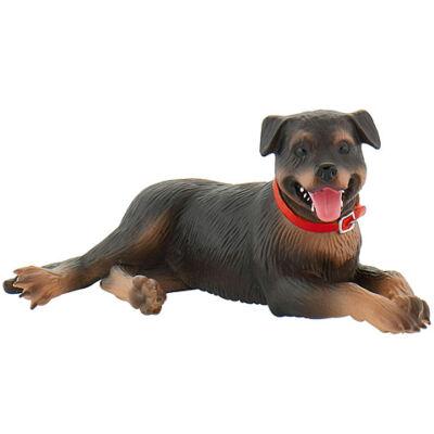 Fiona a Rottweiler kutya játékfigura