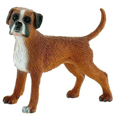 Maggie a bokszer kutya játékfigura