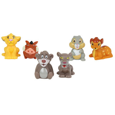 Disney kisállatok spriccelő figurák 7 cm 1 db többféle változatban