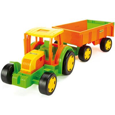 Óriás traktor utánfutóval 102 cm – Wader